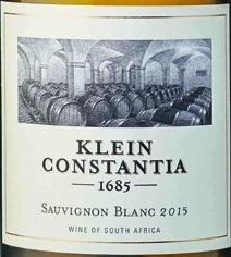 克莱坦亚长相思干白葡萄酒(Klein Constantia Sauvignon Blanc,Constantia,South Africa)