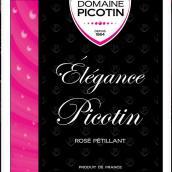 碧哥潭酒庄桃红起泡酒(Domaine Picotin Elegance Picotin La Bouteille Rose,...)