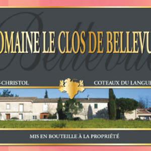 美景园艾斯缇万园格里斯桃红葡萄酒(Domaine le Clos de Bellevue Les Estivencs Gris Rose,Lunel,...)