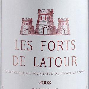 拉图堡垒红葡萄酒(Les Forts de Latour, Pauillac, France)