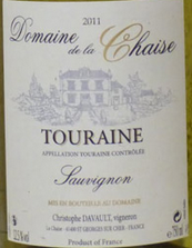 谢泽酒庄都兰长相思干白葡萄酒(Domaine La Chaise Touraine Sauvignon,Touraine,France)