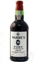 辛明顿家族华莱仕单一年份波特酒(Symington Family Warre's Colheita Port, Douro, Portugal)