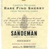 桑德曼瑞尔菲诺雪利酒(Sandeman Rare Fino Sherry,Jerez,Spain)