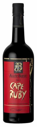 蓝光之路红宝石角干红葡萄酒(Allee Bleue Cape Ruby,Paarl,South Africa)