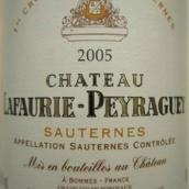拉佛瑞佩拉酒庄贵腐甜白葡萄酒(Chateau Lafaurie-Peyraguey,Sauternes,France)