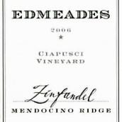 埃德米赛普希园仙粉黛干红葡萄酒(Edmeades Ciapusci Vineyard Zinfandel,Mendocino Ridge,USA)