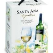 圣安纳BIB霞多丽维欧尼干白葡萄酒(Bodegas Santa Ana BIB Chardonnay-Viognier,Mendoza,Argentina)