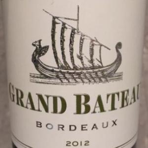 小龙船干白葡萄酒(Grand Bateau Blanc,Bordeaux,France)