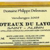Domaine Philippe Delesvaux Coteaux du Layon Saint-Aubin,...