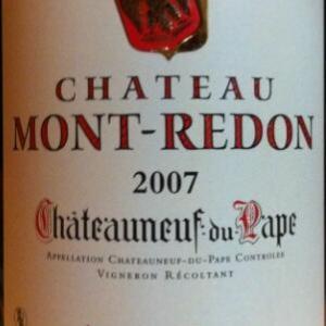 黑洞山酒庄教皇新堡干红葡萄酒(Chateau Mont-Redon,Chateauneuf du Pape,France)