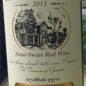 德佳酒庄半甜型红葡萄酒(Chateau Dega Semi-Sweet Red Wine,Georgia)
