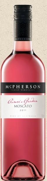 麦克弗森家族系列麝香桃红葡萄酒(McPherson Family Series Moscato,Central Victoria,Australia)