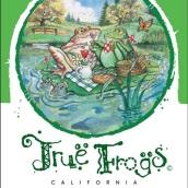 黑羊蛙与睡莲霞多丽干白葡萄酒(Black Sheep True Frogs Lily Pad Chardonnay,California,USA)