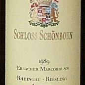 勋彭爱柏马可雷司令精选白葡萄酒(Schloss Schonborn Erbacher Marcobrunn Riesling Auslese, Rheingau, Germany)