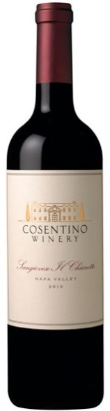 卡斯提诺桑娇维塞桃红葡萄酒(Cosentino Winery Il Chiaretto Sangiovese,Napa Valley,USA)