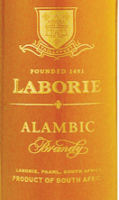 历堡雅文邑白兰地(Laborie Alambic Brandy,Paarl,South Africa)