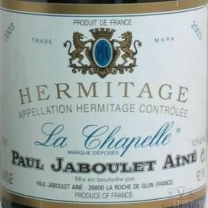 嘉伯乐教堂园干红葡萄酒(Paul Jaboulet Aine La Chapelle,Hermitage,France)