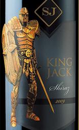 杰克王精选系列西拉干红葡萄酒(青标)(King Jack Shiraz, Adelaide Hills, Australia (Green Label))