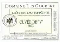 Domaine Les Gouberts Cotes du Rhone Cuvee de V,Rhone,France