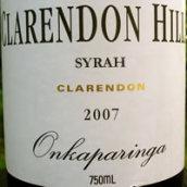 克拉伦敦山欧那卡帕灵加园西拉干红葡萄酒(Clarendon Hills Onakaparinga Syrah,Clarendon,Australia)
