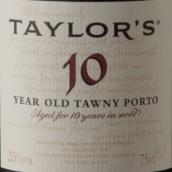 泰勒10年茶色波特酒(Taylor's 10 Year Old Tawny Port, Douro, Portugal)