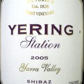 优伶西拉维欧尼混酿干红葡萄酒(Yering Station Shiraz-Viognier,Victoria,Australia)