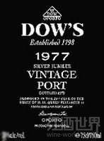 辛明顿家族道斯银禧年份波特酒(Symington Family Dow's Silver Jubilee Vintage Port,Douro,...)