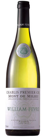 威廉·费尔美利山园干白葡萄酒(Domaine William Fevre Mont de Milieu, Chablis, France)