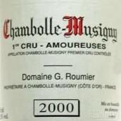 卢米爱侣园干红葡萄酒(Domaine G.Roumier Les Amoureuses,Chambolle-Musigny,France)