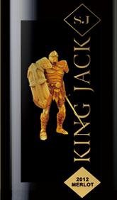杰克王经典系列梅洛干红葡萄酒(King Jack Merlot, Southeast Australia, Australia)