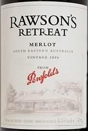 奔富洛神山庄梅洛干红葡萄酒(Penfolds Rawson's Retreat Merlot, Southeast Australia, Australia)