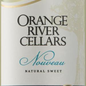 奥兰治河酒庄自然甜白葡萄酒(Orange River Cellars Natural Sweet Nouveau,Orange River,...)