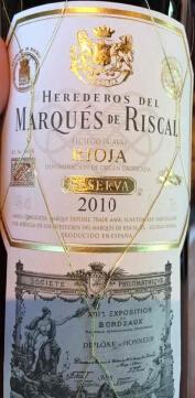 瑞格尔侯爵珍藏干红葡萄酒(Marques de Riscal Reserva,Rioja,Spain)