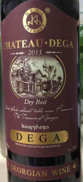 德佳酒庄干红葡萄酒(Chateau Dega Dry Red Wine,Georgia)