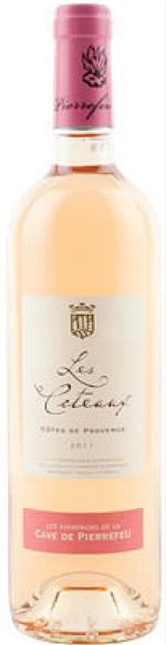 比耶夫酒庄山丘桃红葡萄酒(Les Vignerons de Pierrefeu Les Coteaux Rose,Cotes de ...)