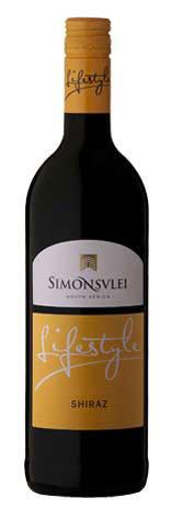 西蒙斯雷生活西拉干红葡萄酒(Simonsvlei Lifestyle Shiraz,Paarl,South Africa)