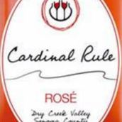 卡蒂诺酒庄桃红葡萄酒(Cardinal Rule Wines Rose,Dry Creek Valley,USA)
