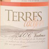 宫廷酒庄隐秘之地桃红葡萄酒(Cave La Courtoise Terres Cachees Rose,Ventoux,France)