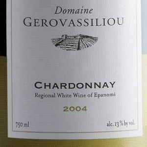 Domaine Gerovassiliou Chardonnay,Epanomi,Greece