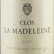 玛德莱娜酒庄红葡萄酒(Clos la Madeleine, Saint-Emilion Grand Cru Classe, France)
