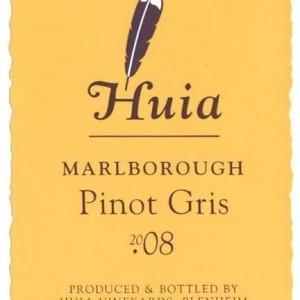 惠亚酒庄灰皮诺干白葡萄酒(Huia Pinot Gris,Marlborough,New Zealand)