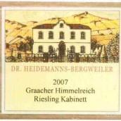 Dr.Heidemanns-Bergweiler Graacher Himmelreich Kabinett,Mosel...