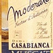 卡萨比昂卡酒庄莫德拉图麝香白葡萄酒(Domaine Casabianca Moderato Muscat,Corsica,France)