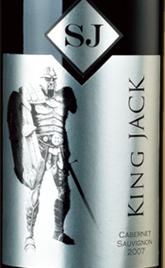 杰克王精选系列赤霞珠干红葡萄酒(银标)(King Jack Cabernet Sauvignon, New South Wales, Australia (Silver Label))