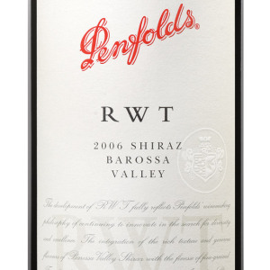 奔富RWT西拉干红葡萄酒(Penfolds RWT Shiraz, Barossa Valley, Australia)