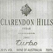 克拉伦敦山多宝园西拉干红葡萄酒(Clarendon Hills Turbo Syrah, Clarendon, Australia)