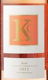 克莱坦亚KC桃红葡萄酒(Klein Constantia KC Rose,Constantia,South Africa)