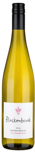 布兰肯布鲁克麝香半干白葡萄酒(Blackenbrook Muscat,Nelson,New Zealand)
