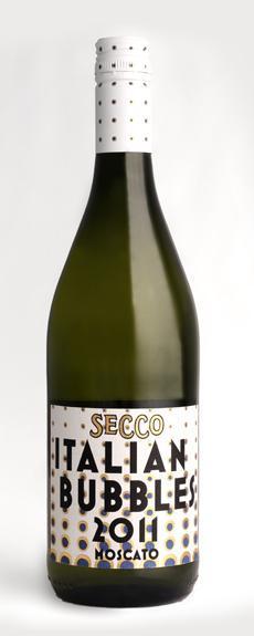 查尔史密斯意大利泡泡干型莫斯卡托起泡酒(Charles Smith Secco Italian Bubbles Moscato,Friuli-Venezia-...)