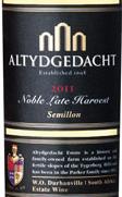 阿泰吉达贵族晚收赛美容白葡萄酒(Altydgedacht Semillon Noble Late Harvest,Durbanville,South ...)